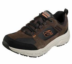 51893 Extra Wide Brown Skechers shoes Men Memory Foam Sport