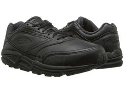BROOKS ADDICTION WALKER LEATHER BLACK MENS SHOES **ALL SIZES