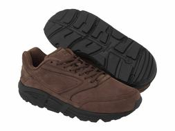 BROOKS ADDICTION WALKER LEATHER BROWN MENS SHOES **ALL SIZES