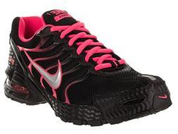 Nike Women's Air Max Torch 4 Running Shoe Black/Metallic Sil