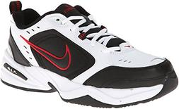 Nike Air Monarch IV Training Shoe  - White/Black/Varsity Red
