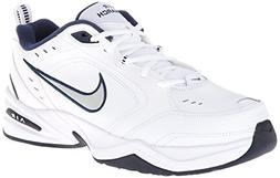 Nike Men's NIKE AIR MONARCH IV  RUNNING SHOES -8;   White /