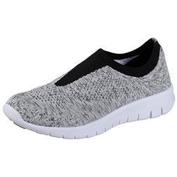 Skechers Women's Bright Idea - Easy Going, Walking, Gray, 9