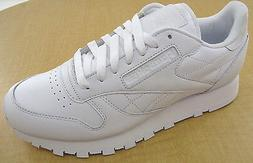 Reebok Classic Leather R12 Mens White Walking Shoes  - NWD -