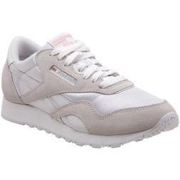 Reebok Classic Nylon, Women's, Size: 9, White