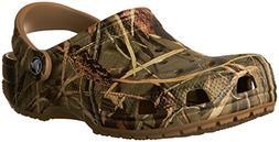 crocs Unisex Classic Realtree Clog, Khaki, 9 M US Men's/11 M