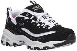 Skechers Women's D Lites Biggest Fan Memory Foam Sneakers  -