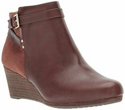 Dr. Scholl's Shoes Women's Double Boot, Copper Brown, 7.5 M