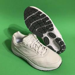 Brooks Dyad Walker White Walking Shoes Sneakers 6200471d111