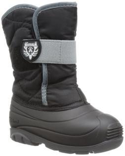 Kamik Footwear Snowbug3 Insulated Boot ,Black,6 M US Toddler