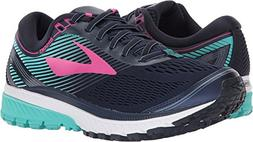 Brooks Women's Ghost 10 Navy/Pink/Teal Green 10.5 B US B