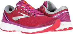 Brooks Women's Ghost 11 Aster/Diva Pink/Silver 11 B US