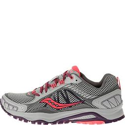 Saucony Women's Grid Excursion TR9 Trail Running Shoe, Grey/