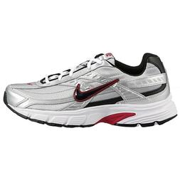 Nike Initiator 394055-001 Silver White Black Red Men's Runni