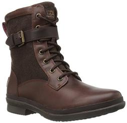 UGG Women's Kesey Motorcycle Boot, Chestnut, 6 B US