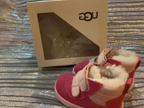 UGG PINK AZALE CUTE SHOES 6-12 Months