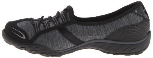 Skechers Sport Life Sneaker, Black/Charcoal, 7 US