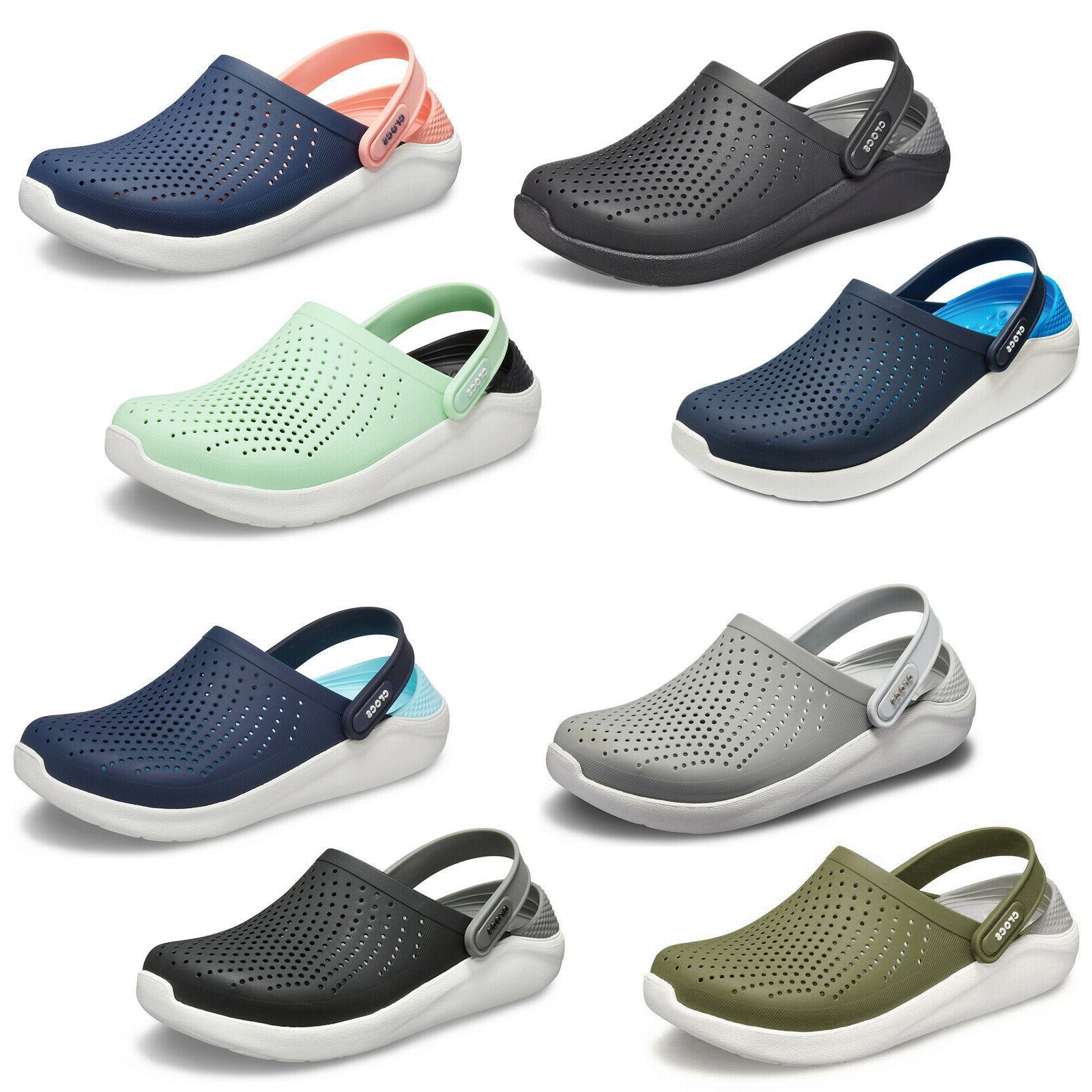 literide clogs unisex summer lightweight padded slip
