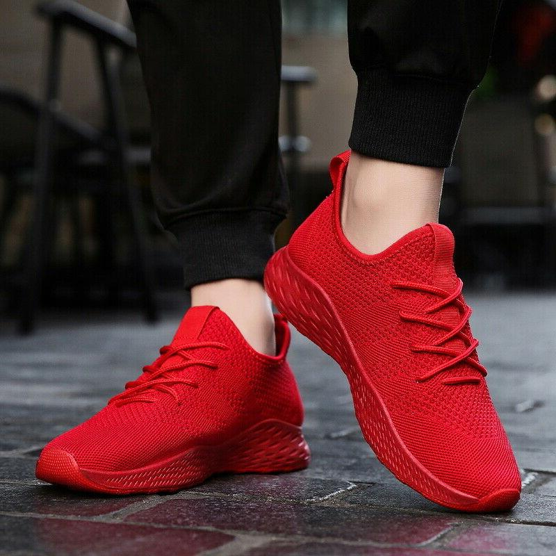 Men's Breathable Shoes Casual Athletic Sneakers