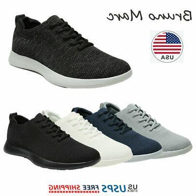 mens black slip on walking shoes breathable