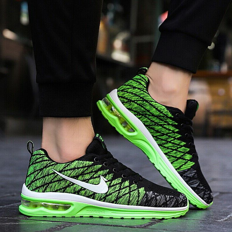 Mens Fashion Running Breathable Shoes Casual Walking Sneakers