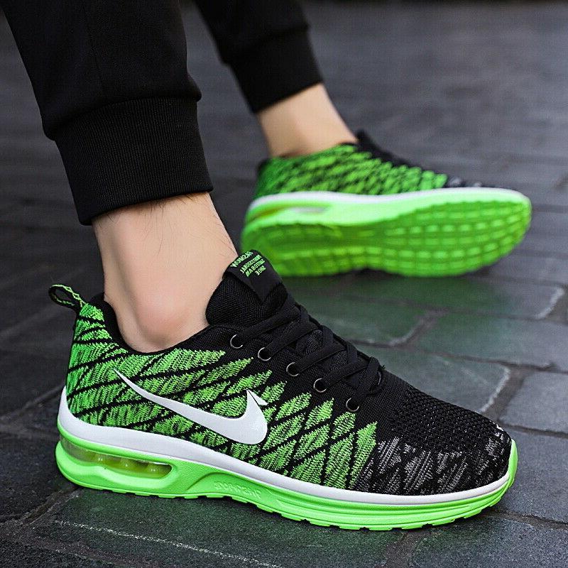 Mens Womens Fashion Running Breathable Shoes Walking