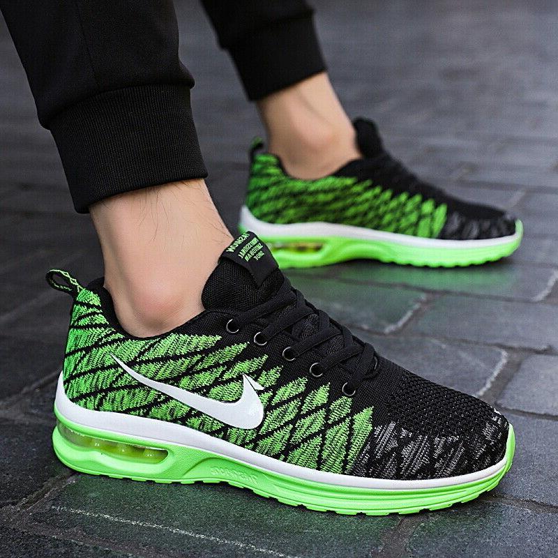 Mens Breathable Sports Walking Sneakers