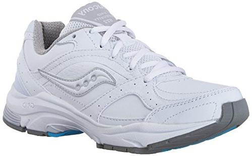 Saucony Women's ProGrid Integrity ST2  Walking Shoe,White/Si