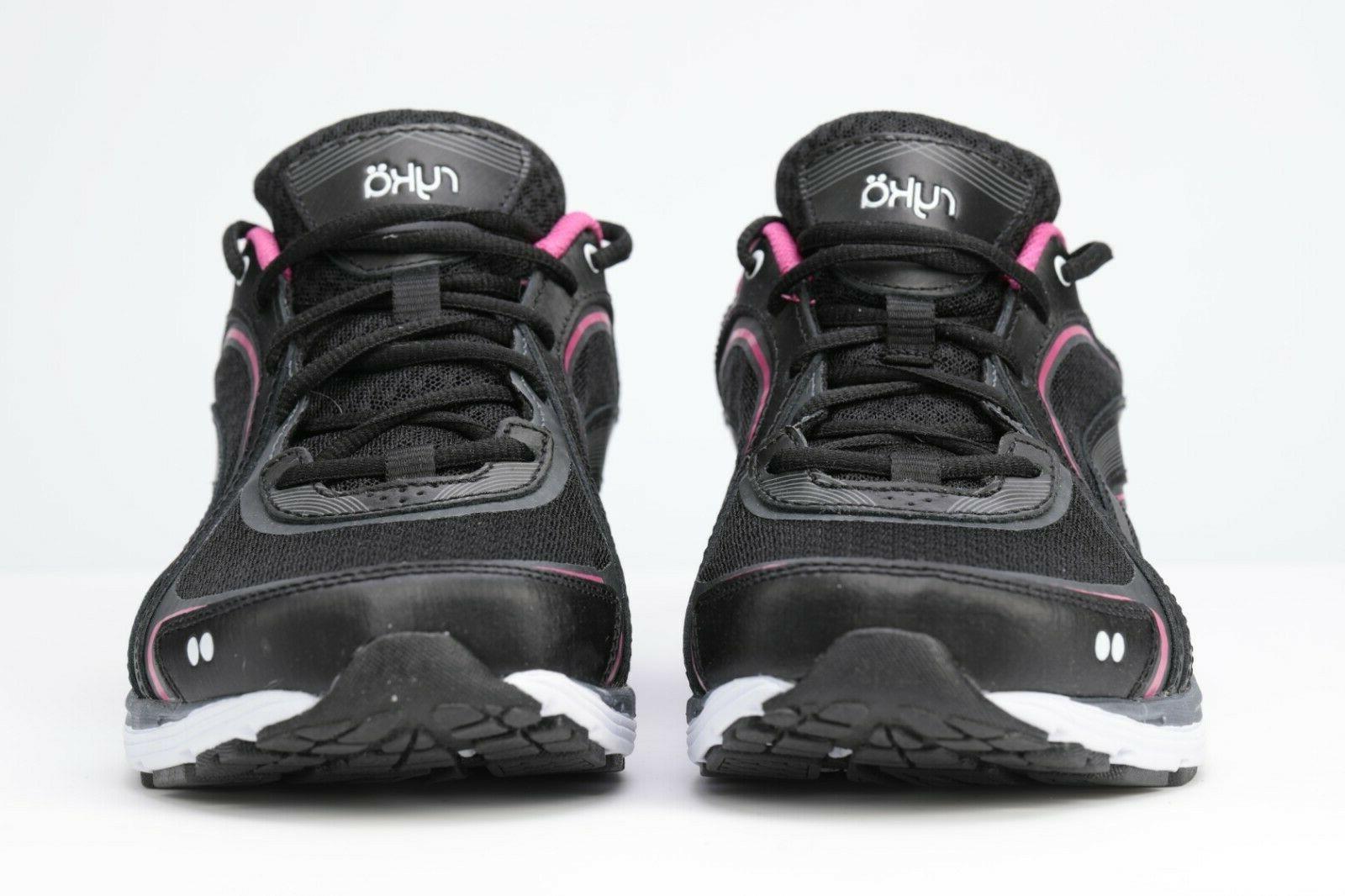 RYKA Shoe, Black/Pink, W US