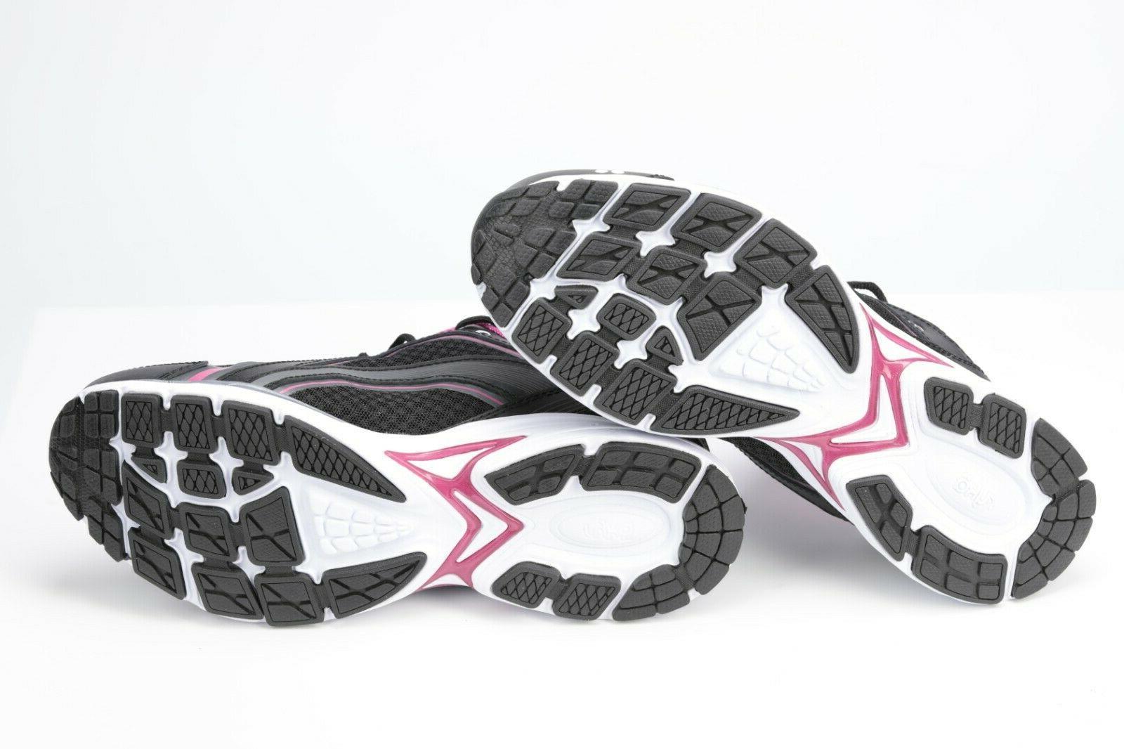 RYKA WALK Shoe, Black/Pink, 8.5 US