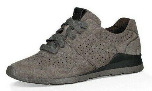 Ugg Tye Leather Sneakers Lightweight Shoes Mlt Sz