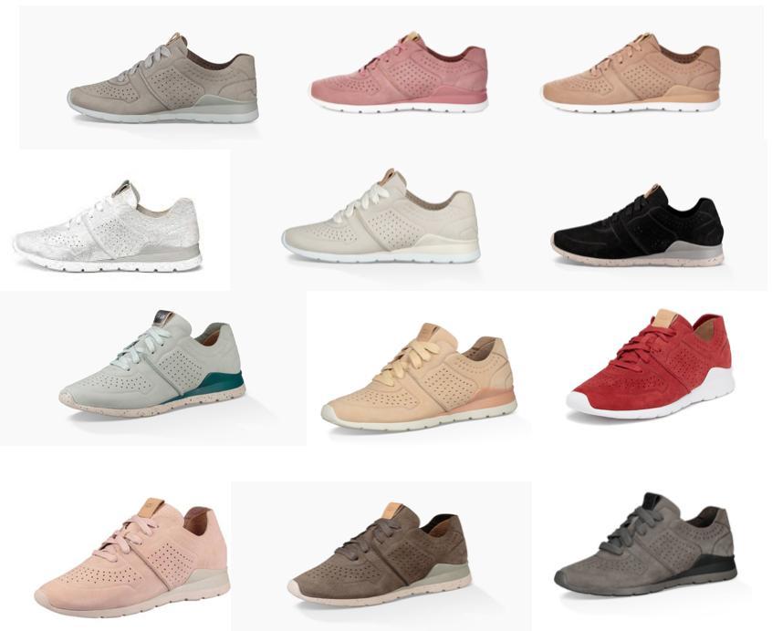 tye womens casual leather sneakers lightweight walking