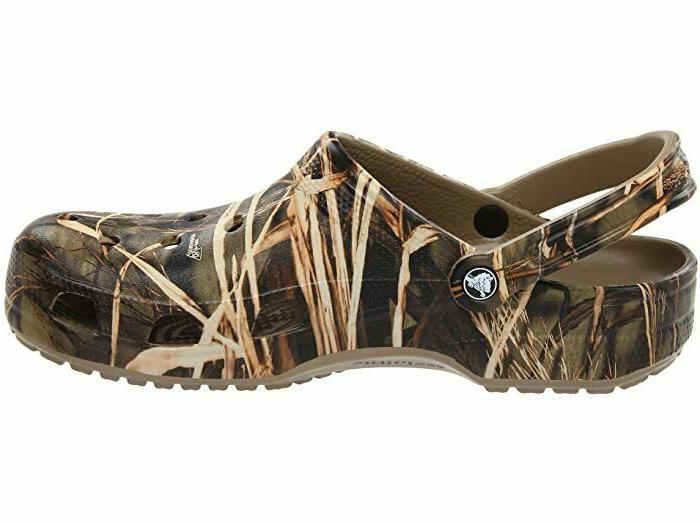 Crocs Realtree Khaki Slip 9