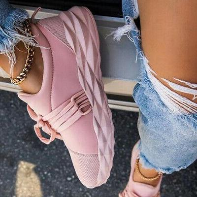 Women's Sneakers Trainers Shoes Lace