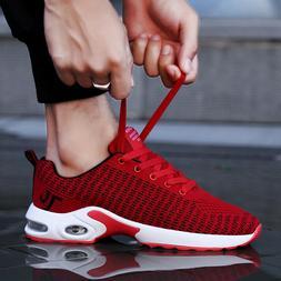 Men's Air Cushion Running Sneakers Sports Casual Tennis Walk