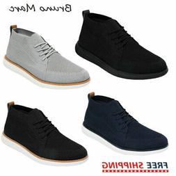 Bruno Marc Mens Mid Top Chukka Sneakers Walking Shoes Outdoo