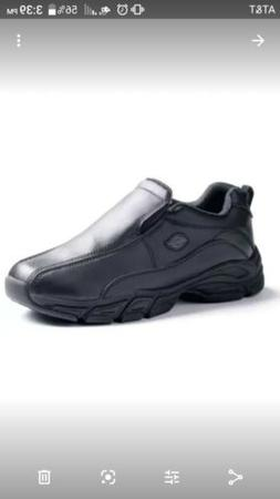 Dickies - Men's Slip Resisting Athletic Slip-on Work Shoes,