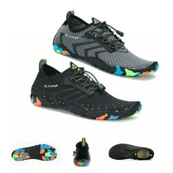 Men's Water Shoes Quick Dry Barefoot Swim Diving Surf Aqua S