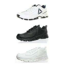 Reebok Mens Athletic Ridgerider Leather Walking Shoes