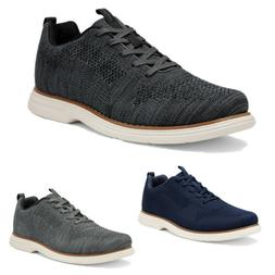 Mens Athletic Shoes Lace up Fashion Sneakers Knit Comfort Wa