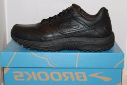Mens Brooks DYAD Walker Slip Resistant Walking Work Shoes Bl