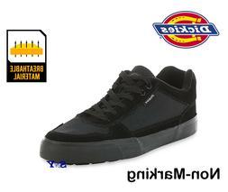 Dickies Mens Work Casual Walking low cut Black Sneakers Shoe
