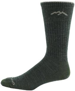 Darn Tough Merino Wool Standard Issue Crew Light Sock Olive,
