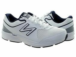 New Balance MW411WB2 White Navy Men's Running Shoes
