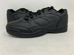 NEW! Dr. Scholl's Men's Solus II Walking Shoes Black Extra W
