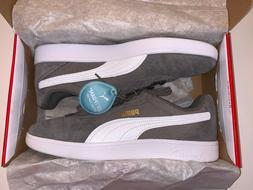 NIB Puma 9.5 Astro Kick Charcoal Gray White Box New Sneakers