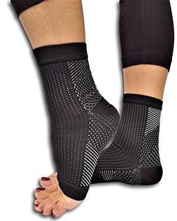 Lumenon 2 pairs Plantar Fasciitis Socks with Arch Support Ea