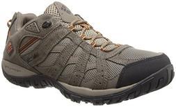 Columbia Men's Redmond Waterproof Hiking Shoe, Pebble, Dark