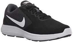 NIKE Women's Revolution 3 Running Shoe, Dark Grey/White/Blac