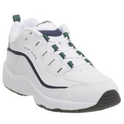 Easy Spirit Women's Romy Sneaker,White/Light Grey,9.5 M
